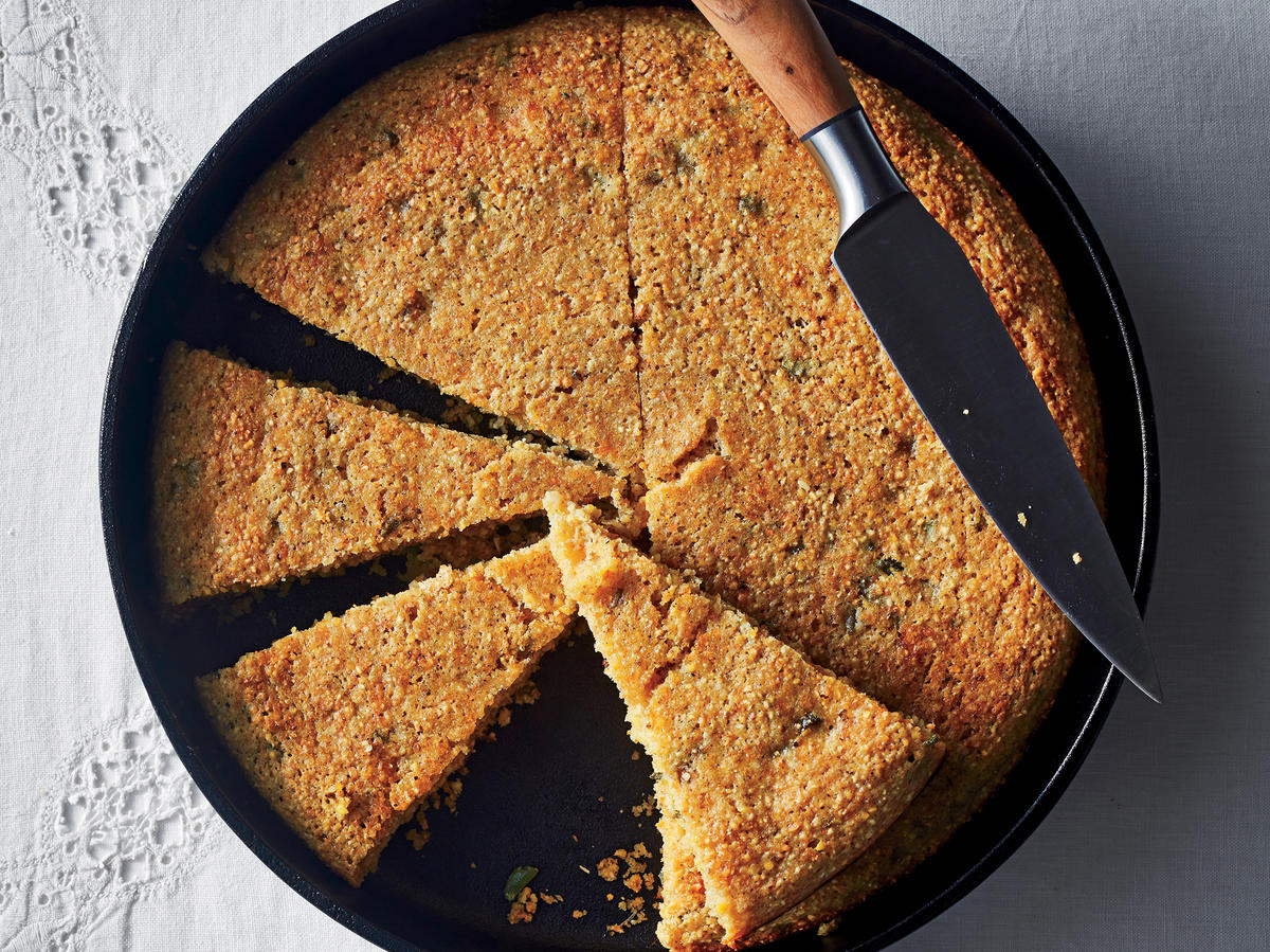 Stuffing-Flavored Cornbread