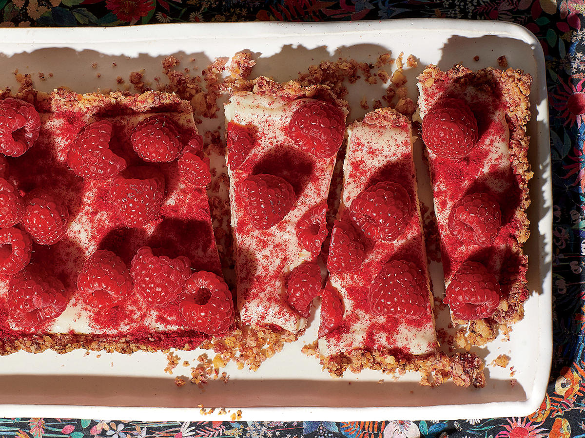 Decadent, Easy White Chocolate–Raspberry Tart