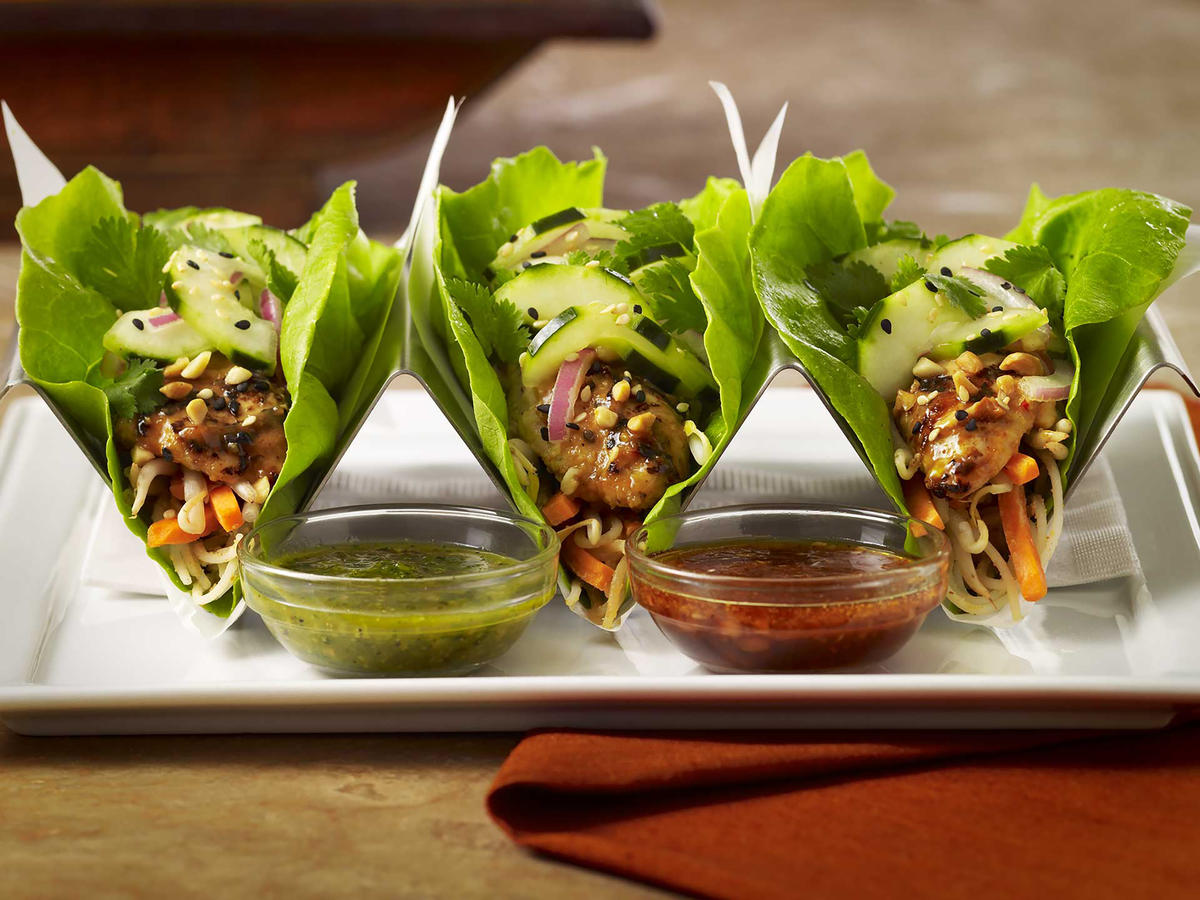 Cheesecake Factory Chicken Lettuce Wrap Tacos