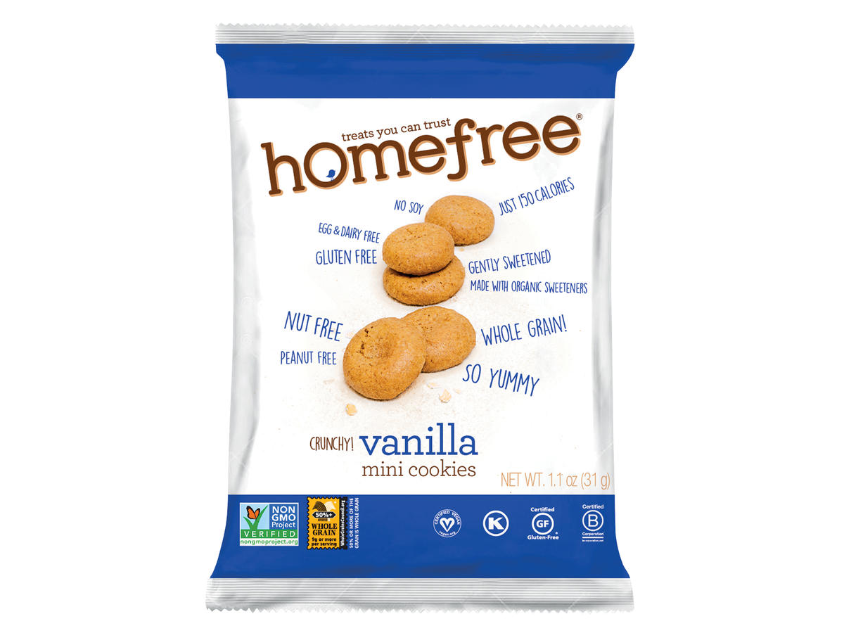 Homefree Treats - Vanilla Mini Cookies