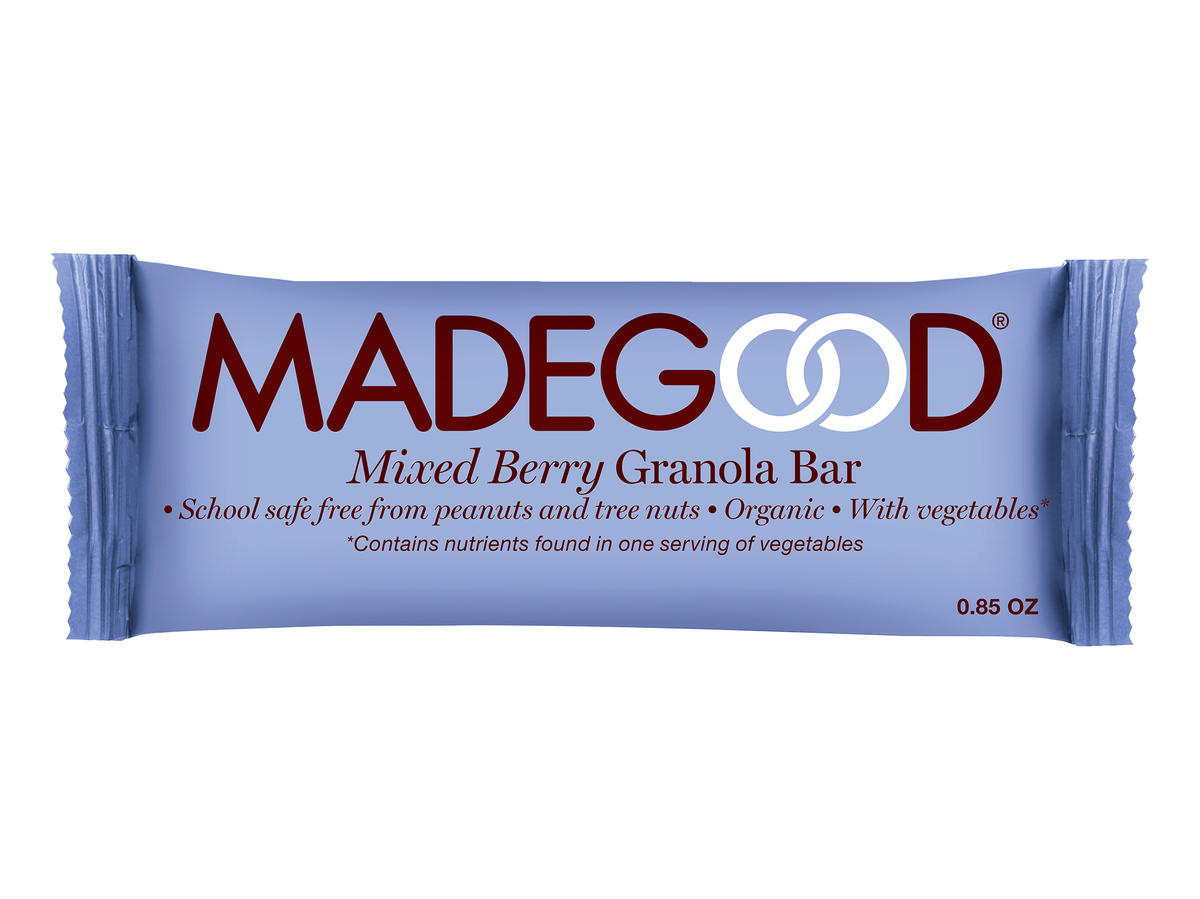 MadeGood Berry Granola Bar