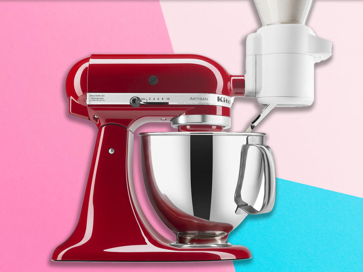 Bakers, Rejoice! KitchenAid's Newest Mixer Gadget Will Make Your Life So Much Easier