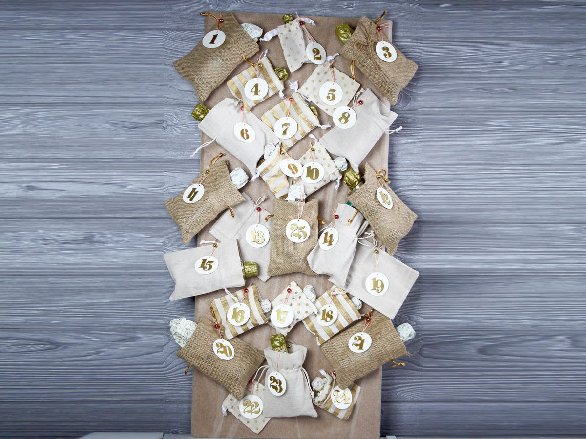 Aldi's Wine Advent Calendars are Sold Out. So Here's Our DIY Alternative