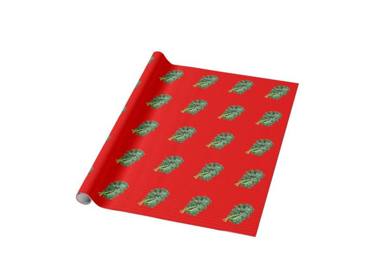 1811w Kale Wrapping Paper