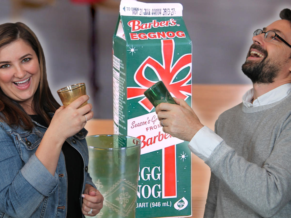 Taste Test: Chris and Jaime Try Too Much Eggnog