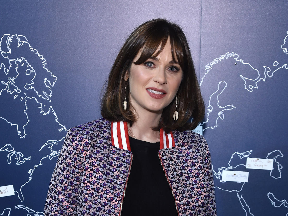 Zooey Deschanel Has a Genius Hack for Getting Her Kids to Eat Vegetables