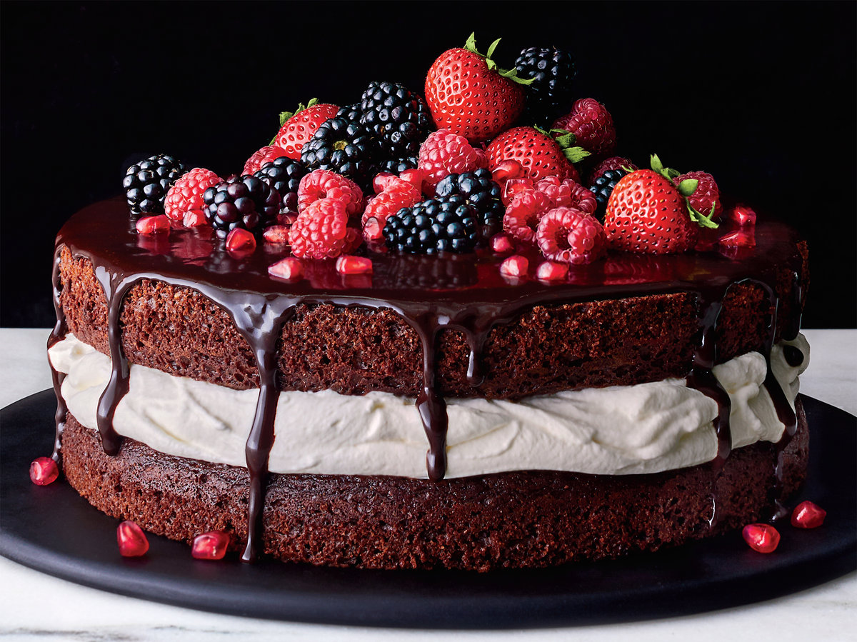 the ultimate decadent chocolate and cream layer cake recipe