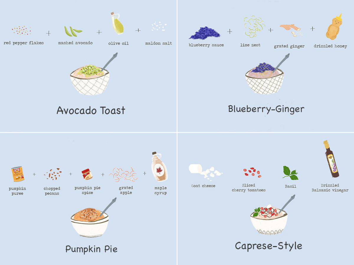 Healthy Oatmeal Toppings