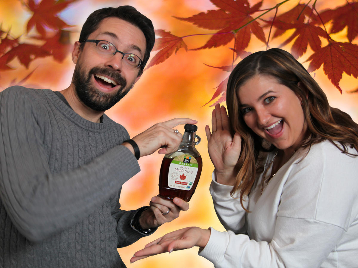 Taste Test: Jaime and Chris Try Maple-Flavored Snacks