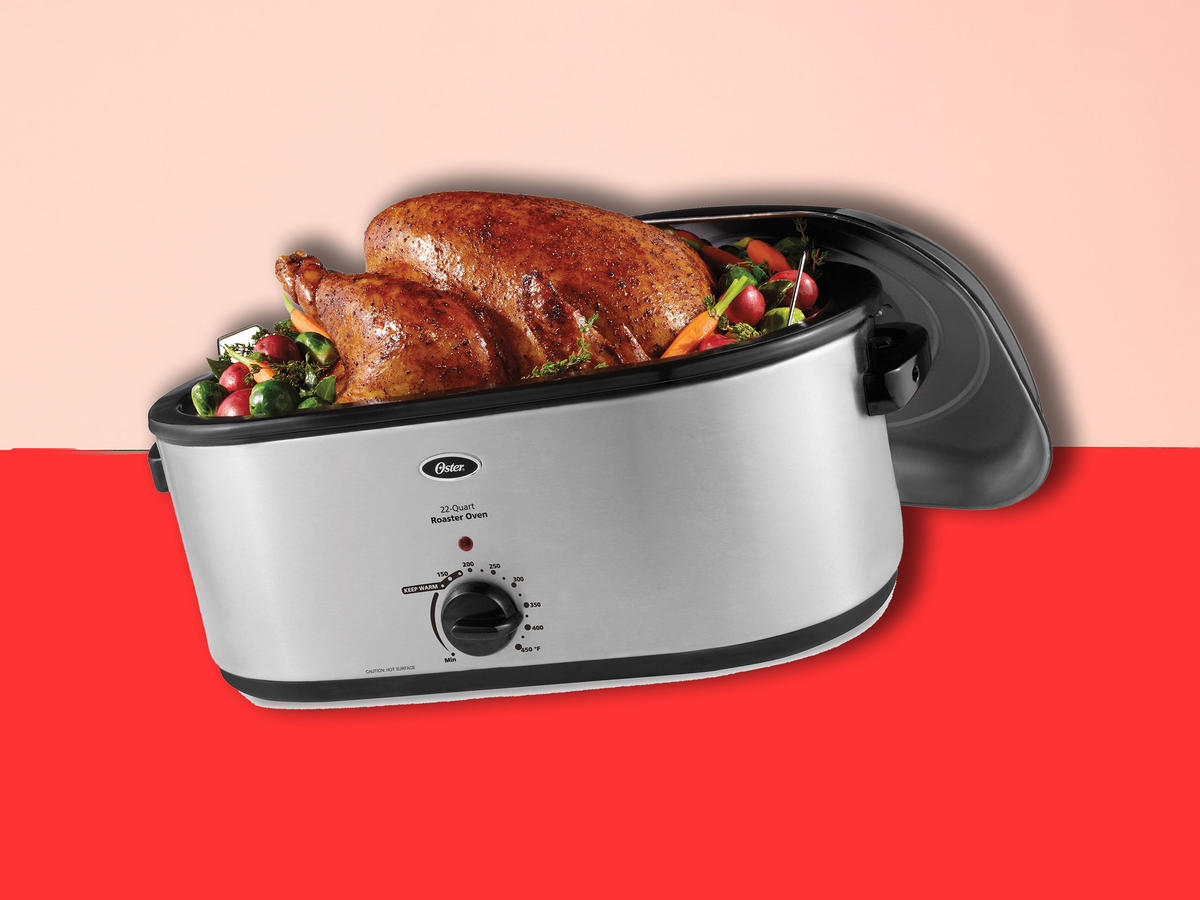 My Mother-in-Law Is Obsessed With This $38 Turkey Roaster