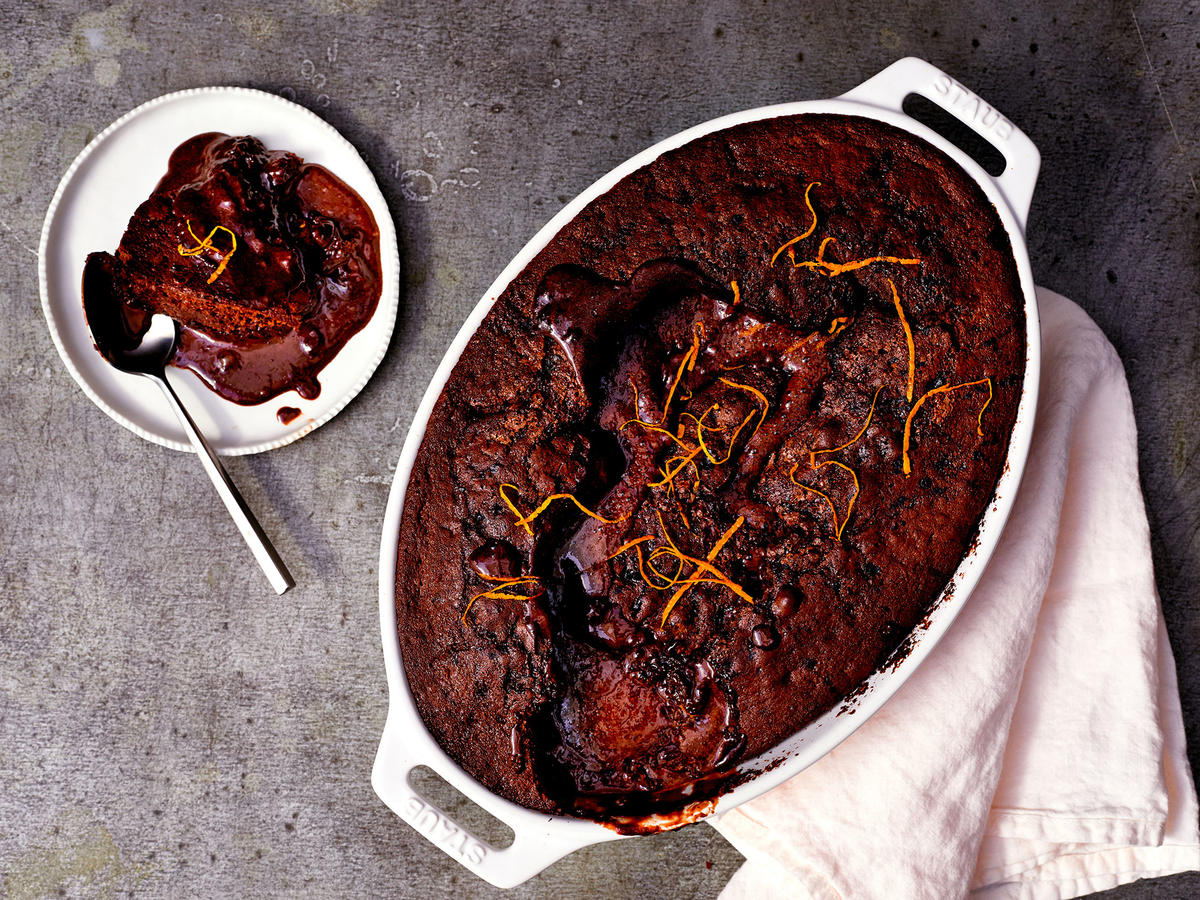 Make a Chocolate-Orange Self-Saucing Pudding This Holiday Season