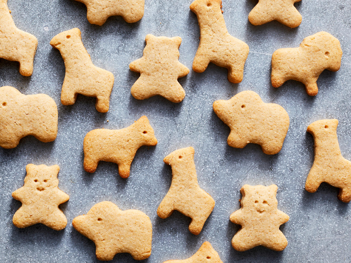 Make Your OwnAnimal Cracker Cookies FromWhole Grains