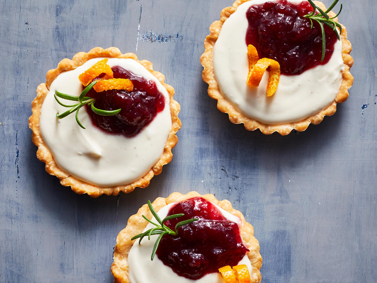 Easy Holiday Mini Cranberry Tarts