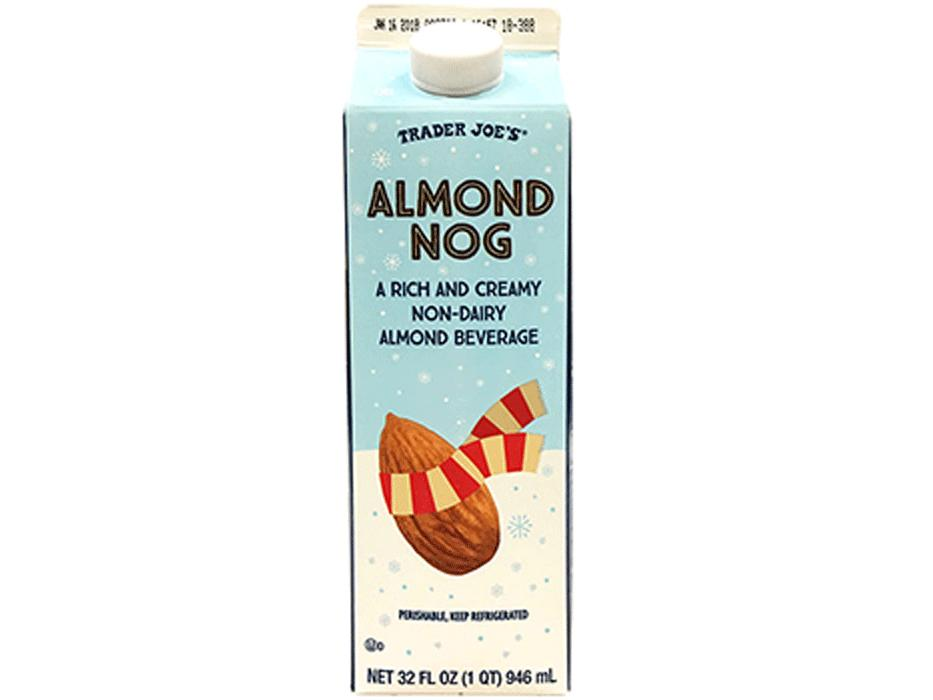 1811w: 3 Trader Joe's Holiday Products You Need Right Now Almond Nog