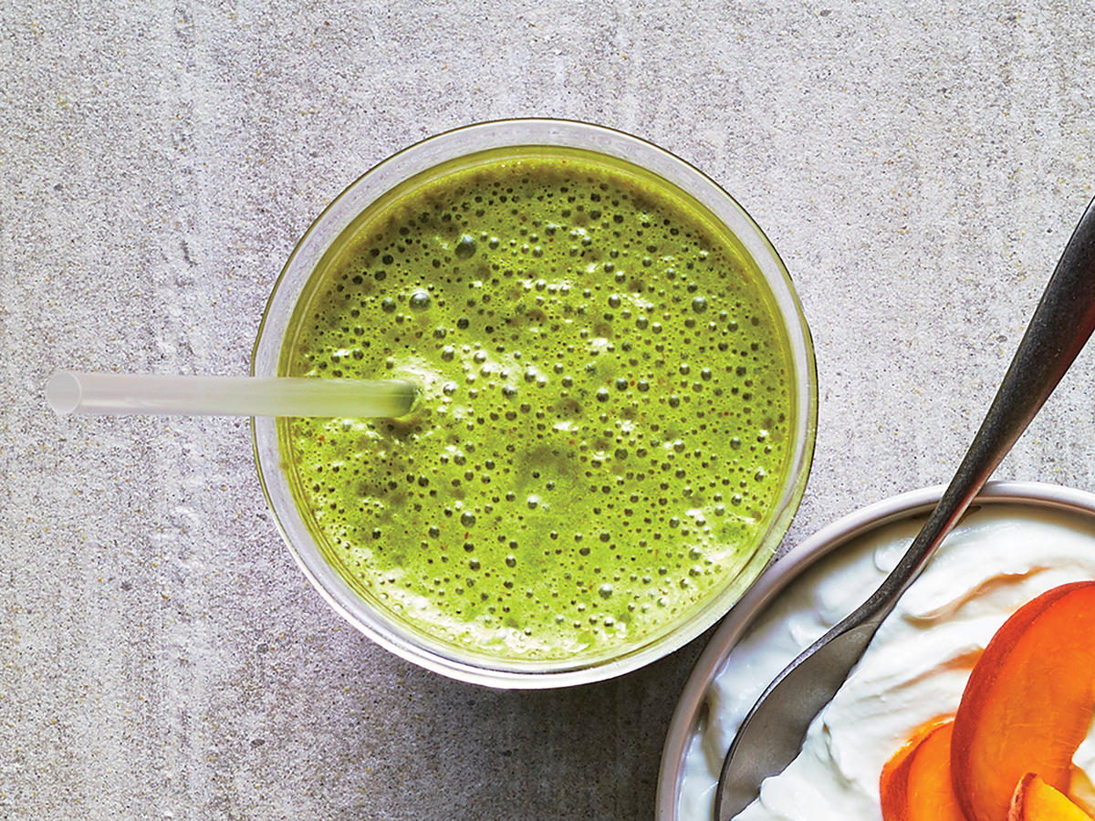 Day 2 Breakfast: Double Green Smoothie