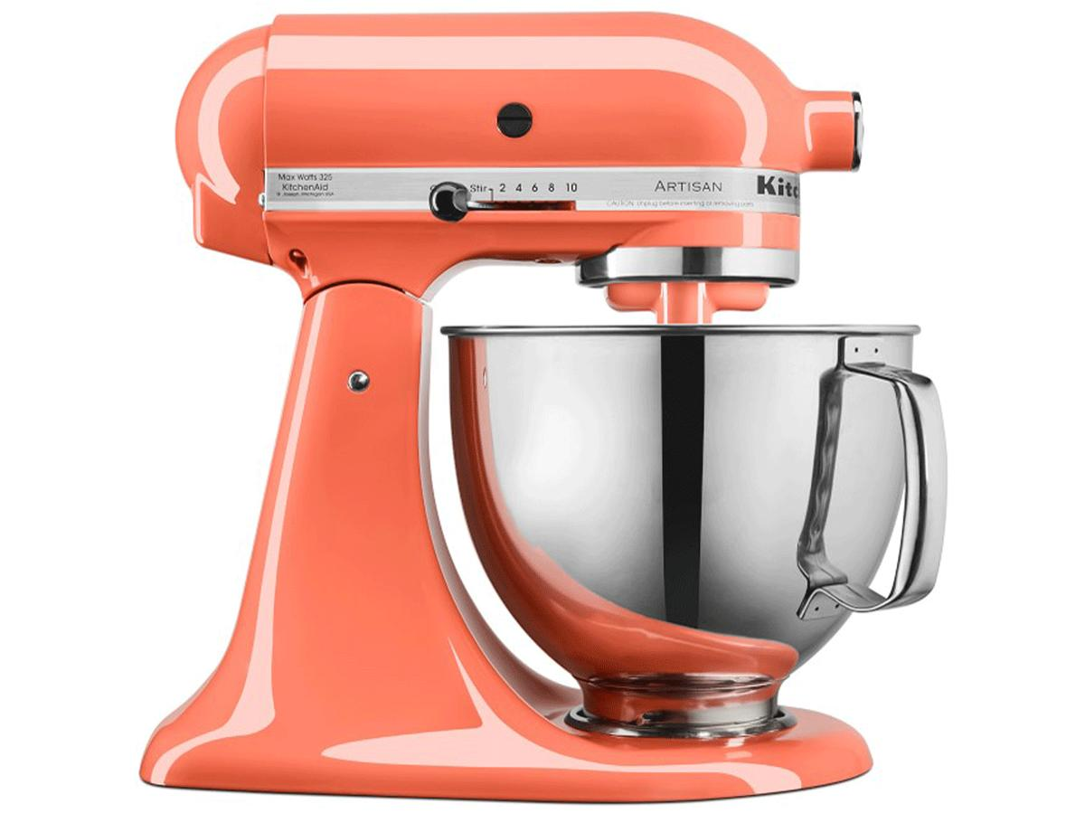 1812w In Honor of Pantone's 2019 Color of the Year, Here Are 6 Coral-Colored Kitchen Items Kitchen Aid
