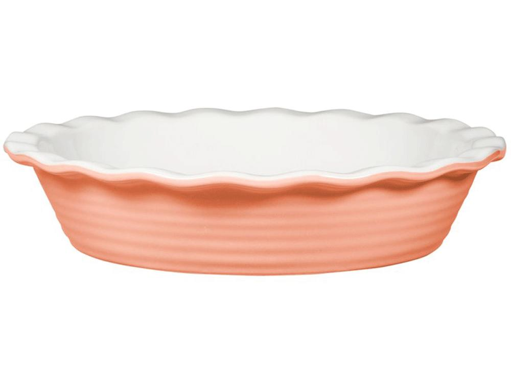 1812w In Honor of Pantone's 2019 Color of the Year, Here Are 6 Coral-Colored Kitchen Items Pie Pan