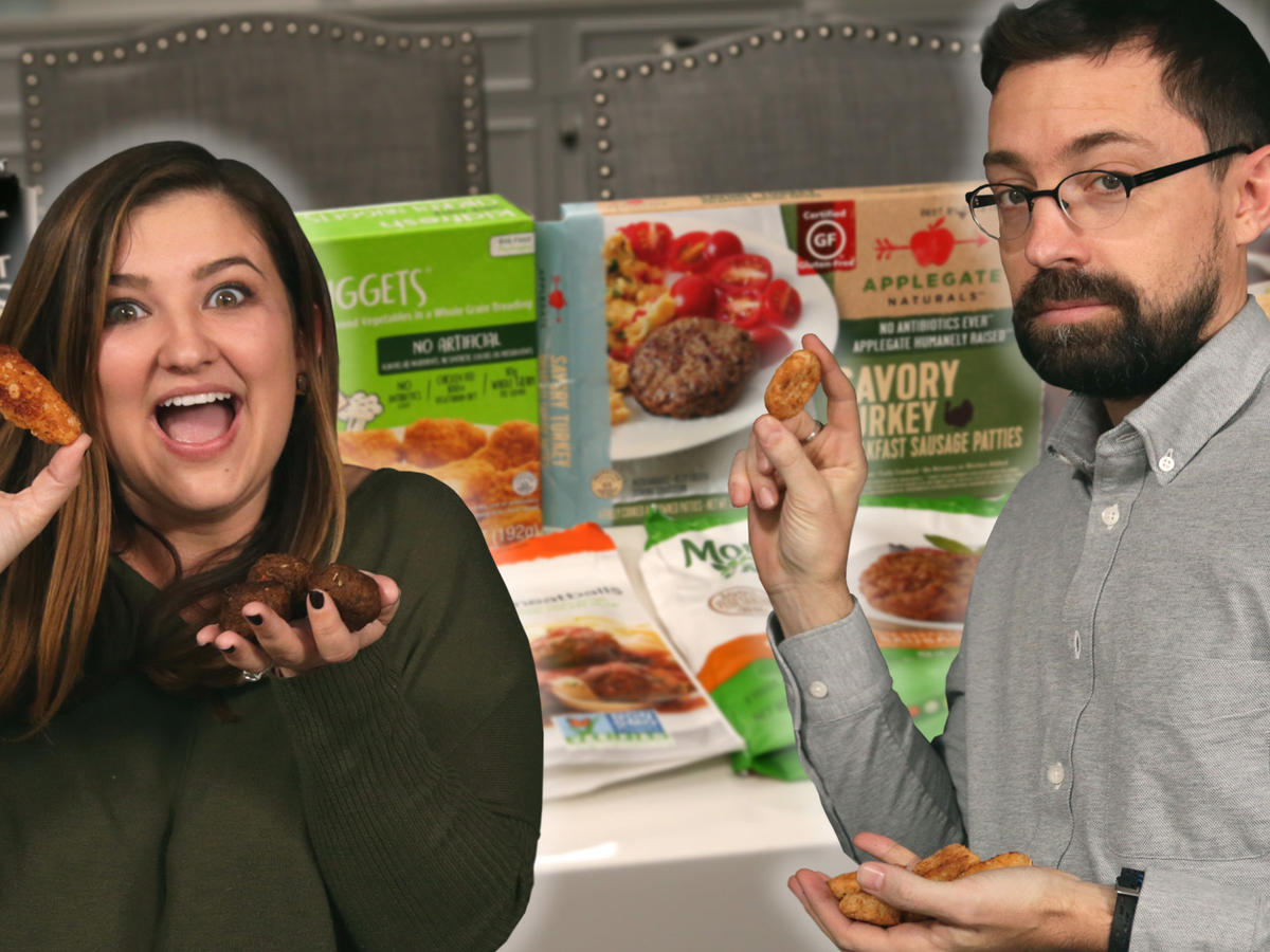 Taste Test: Chris and Jaime Try to Guess Which Meats Aren't Real
