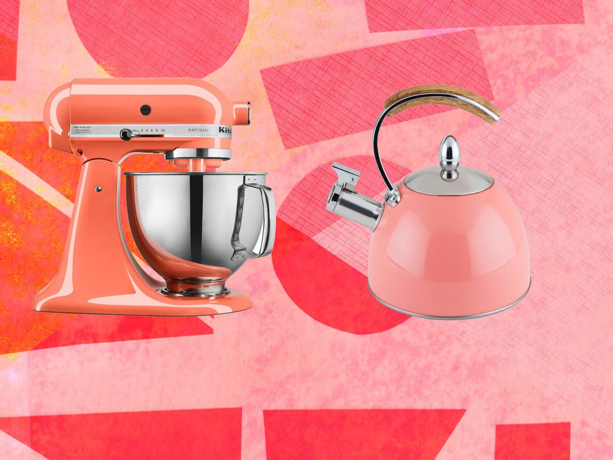 In Honor of Pantone's 2019 Color of the Year, Here Are 6 Coral-Colored Kitchen Items We Love