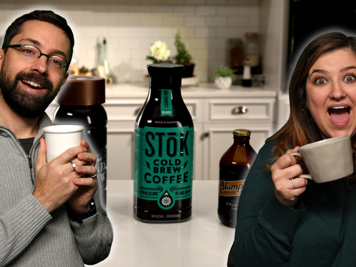 Taste Test: Jaime and Chris Try Bottled Cold Brew Coffee