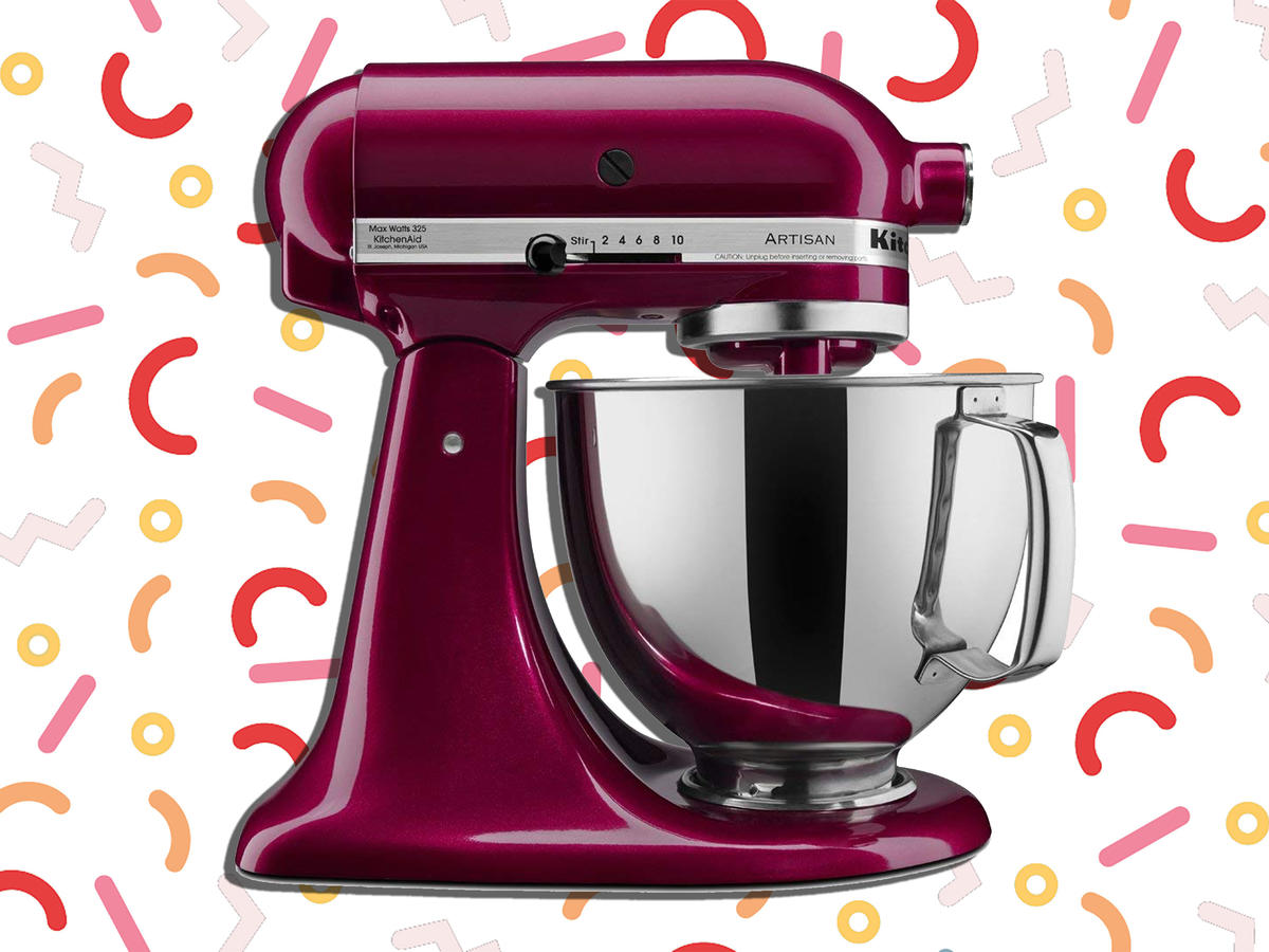 KitchenAid Stand Mixers are Majorly Discounted on Amazon for Today Only