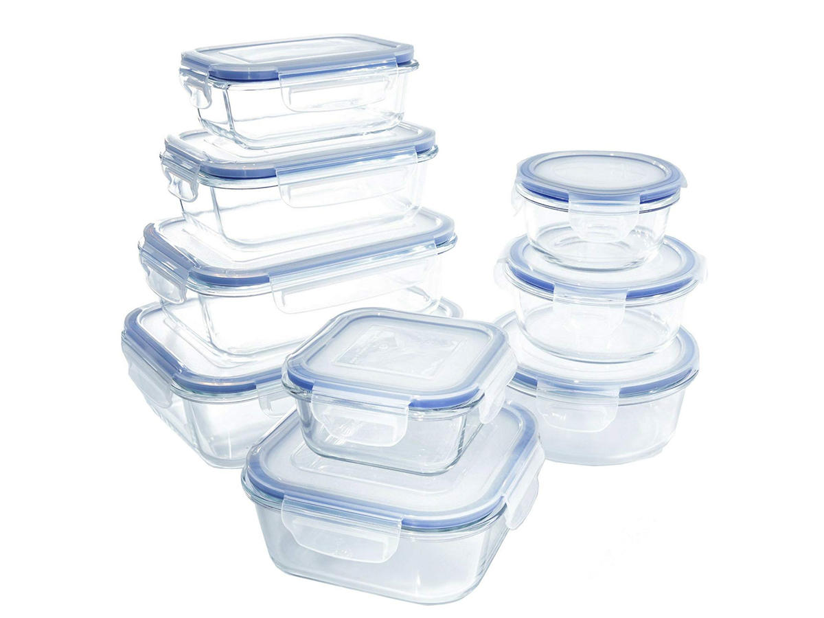 glass food storage set