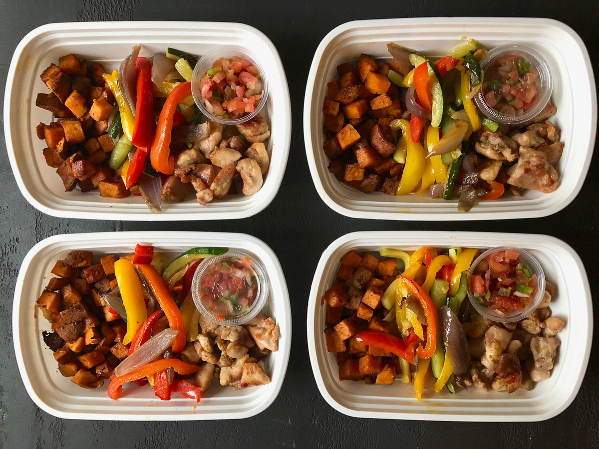 Make-Ahead Chicken Fajita Bowls