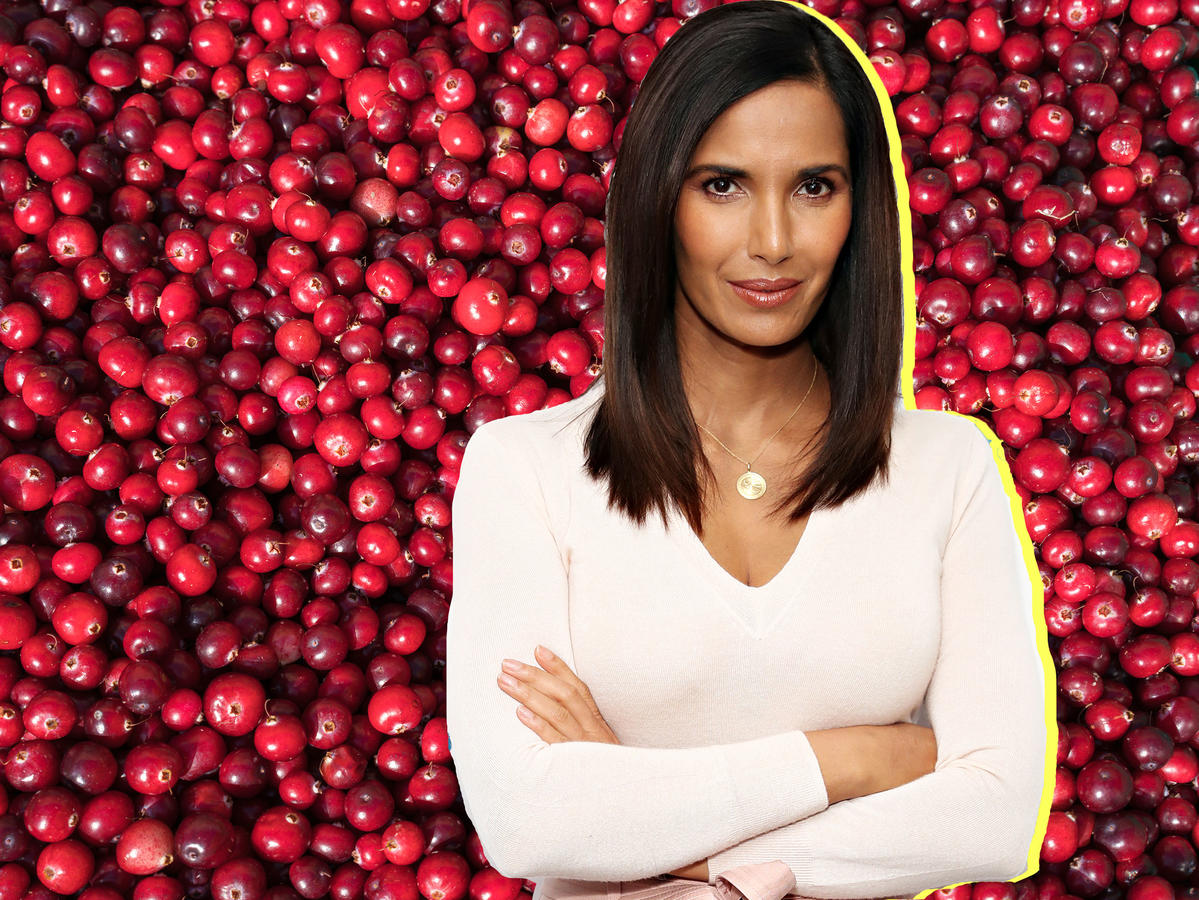 Padma Lakshmi's New Year Detox Is Something Called 'Cranberry Drano'