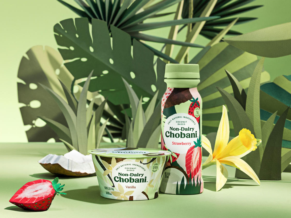Chobani Launches Vegan Plant-Based Yogurt Made With Probiotics