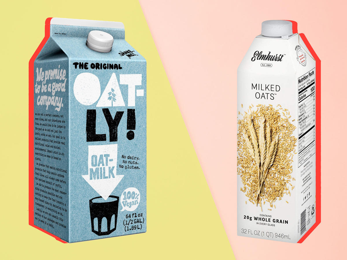 Oat Milk Stop And Shop