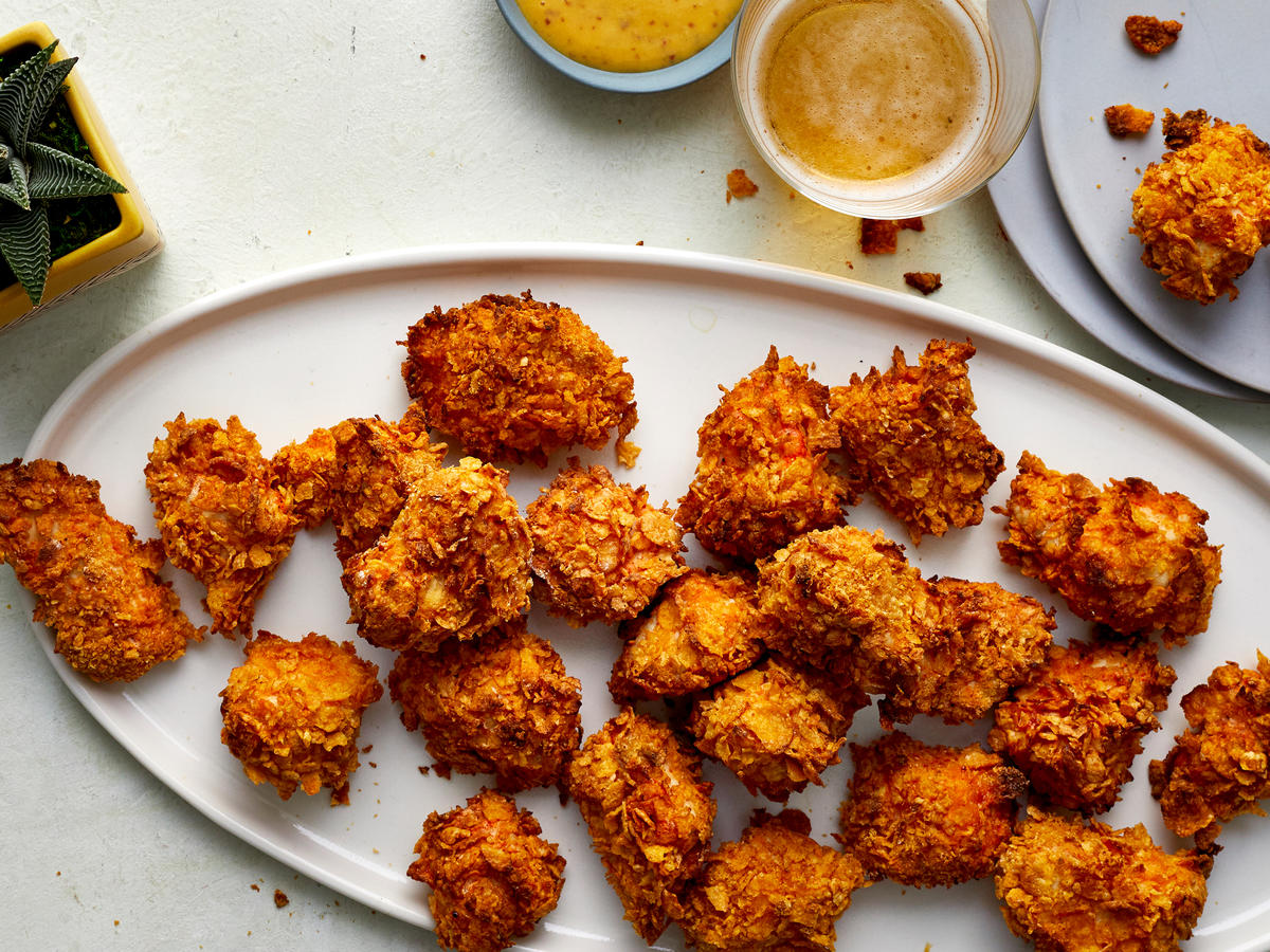This Air Fryer Popcorn Chicken Is Much Healthier Than the Fast Food Version
