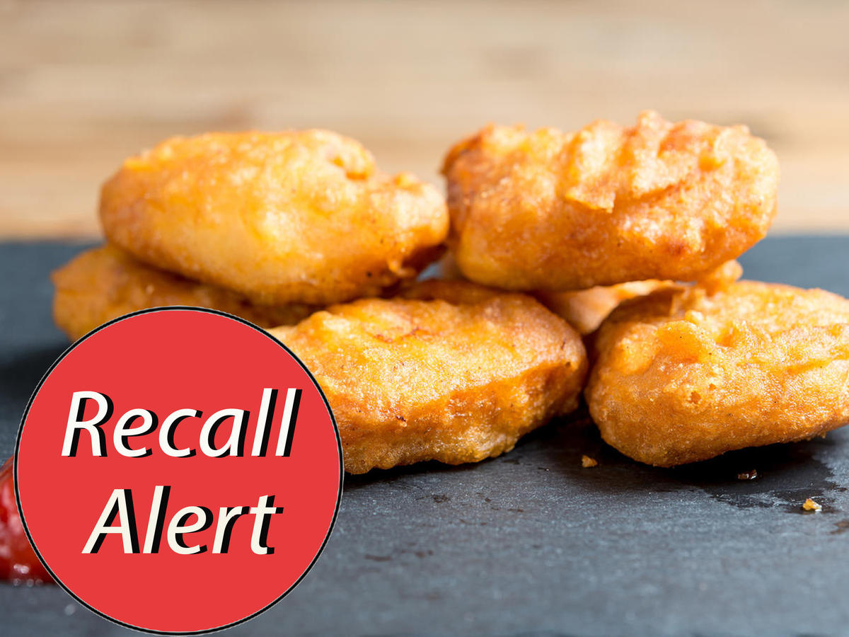 1901w Chicken Nuggets Recall