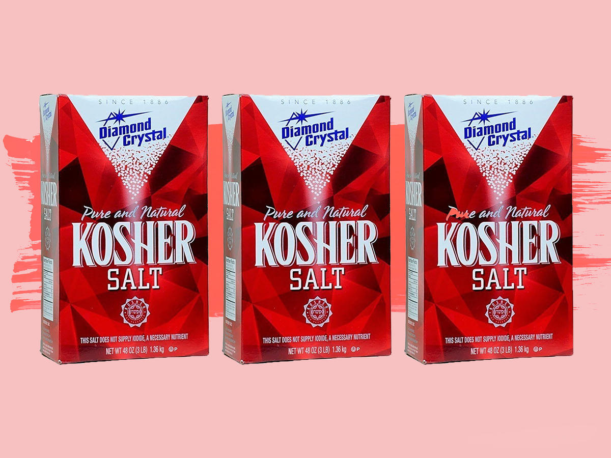 Great News: Diamond Crystal Kosher Salt Isn't Being Discontinued