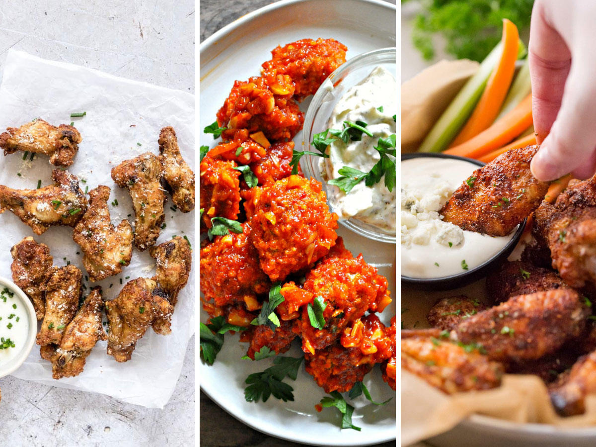 Pinterest Is Loving These Low-Calorie Buffalo Wing Recipes