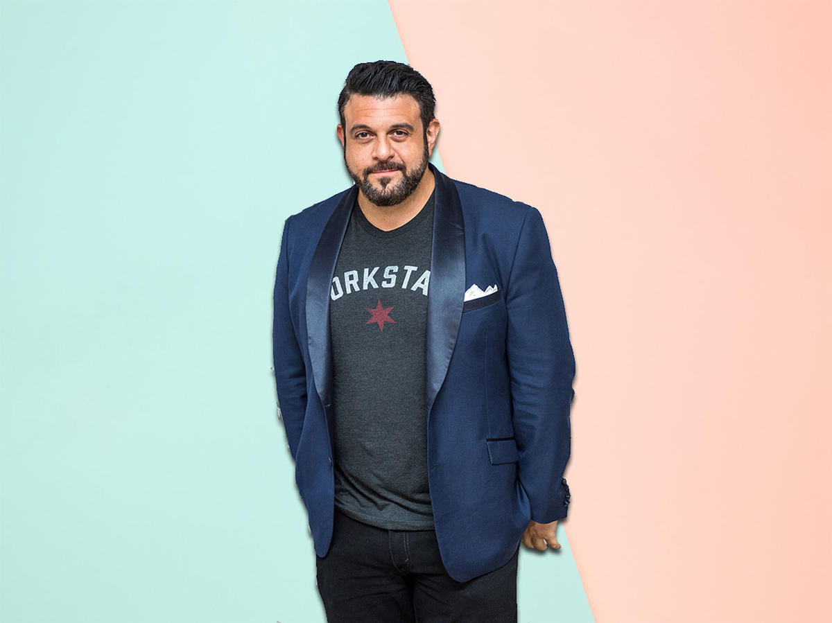 Adam Richman's 5 Tips for Finding Balance in Your Diet—And One Tasty Recipe