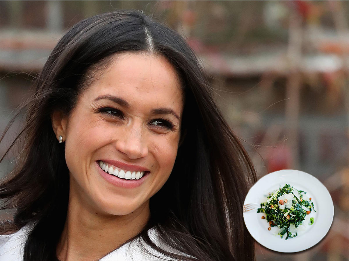 Meghan Markle's Kale Salad Recipe Is Mediterranean Diet-Friendly
