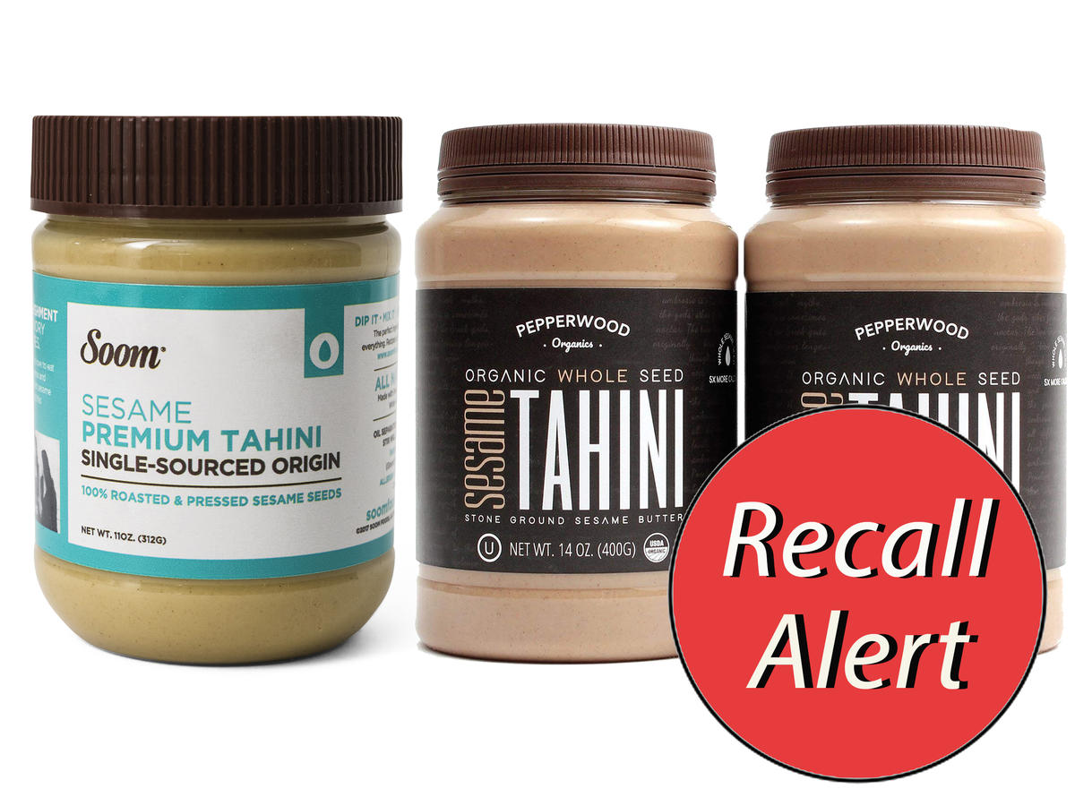 UPDATE: FDA Reminds Shoppers the Tahini Recall Due to Salmonella Persists