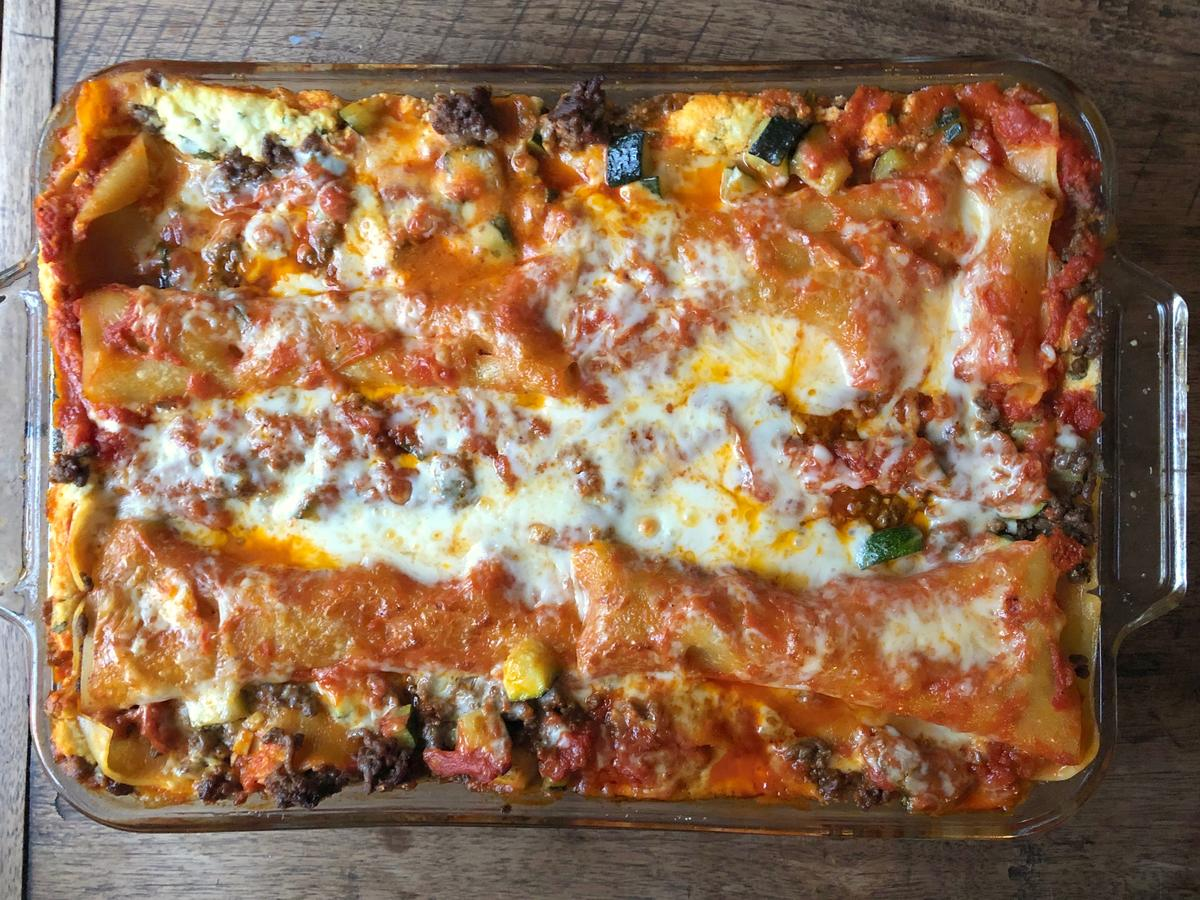 Gluten-Free Meat and Zucchini Lasagna