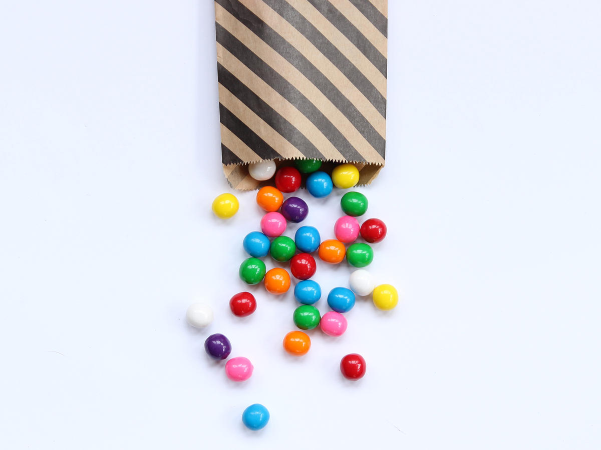 Colorful Candy in Bag