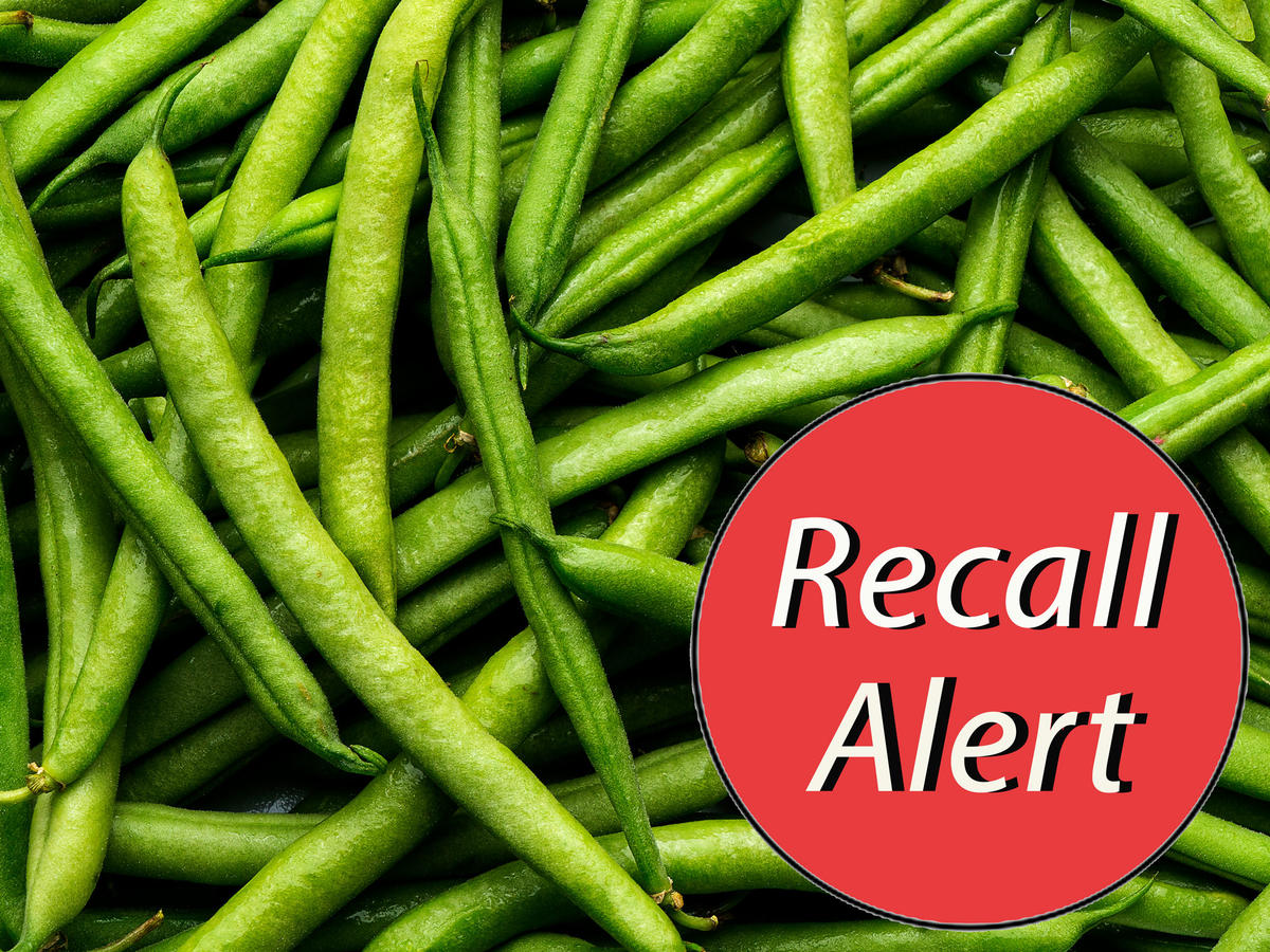 Green Beans and Squash Are Being Recalled in Nine States Due to Possible Listeria Contamination