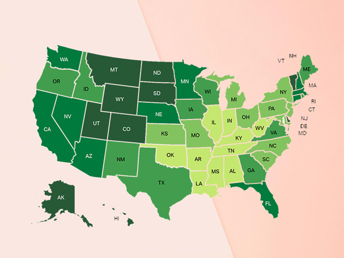 These Are the Happiest, Healthiest U.S. States—Here's What They're Doing Right