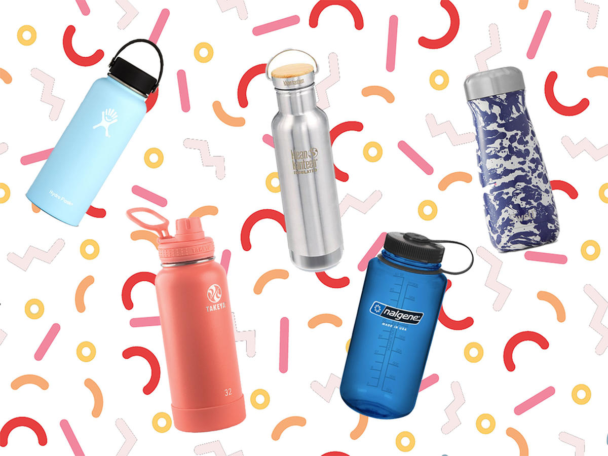 We Tested 20 Reusable Water Bottles—Here Are 5 We Loved