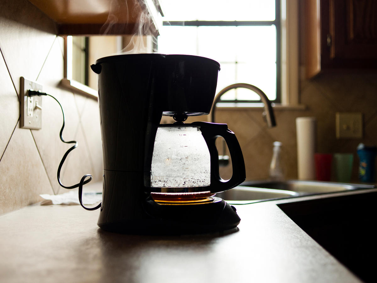 Here's a Chemical-Free Method for Cleaning a Coffee Maker