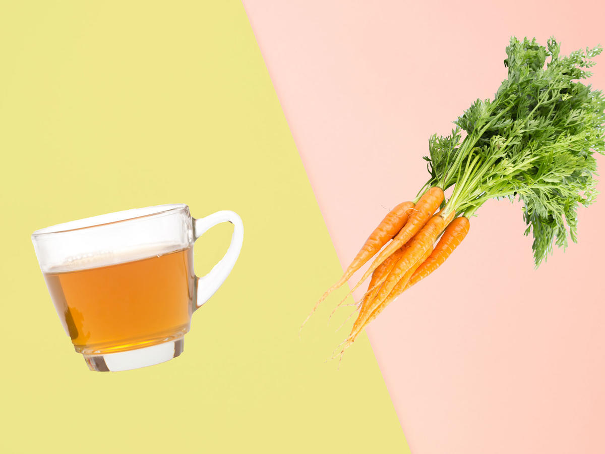 Alzheimer's Symptoms Reversed by Compounds Found in Green Tea and Carrots