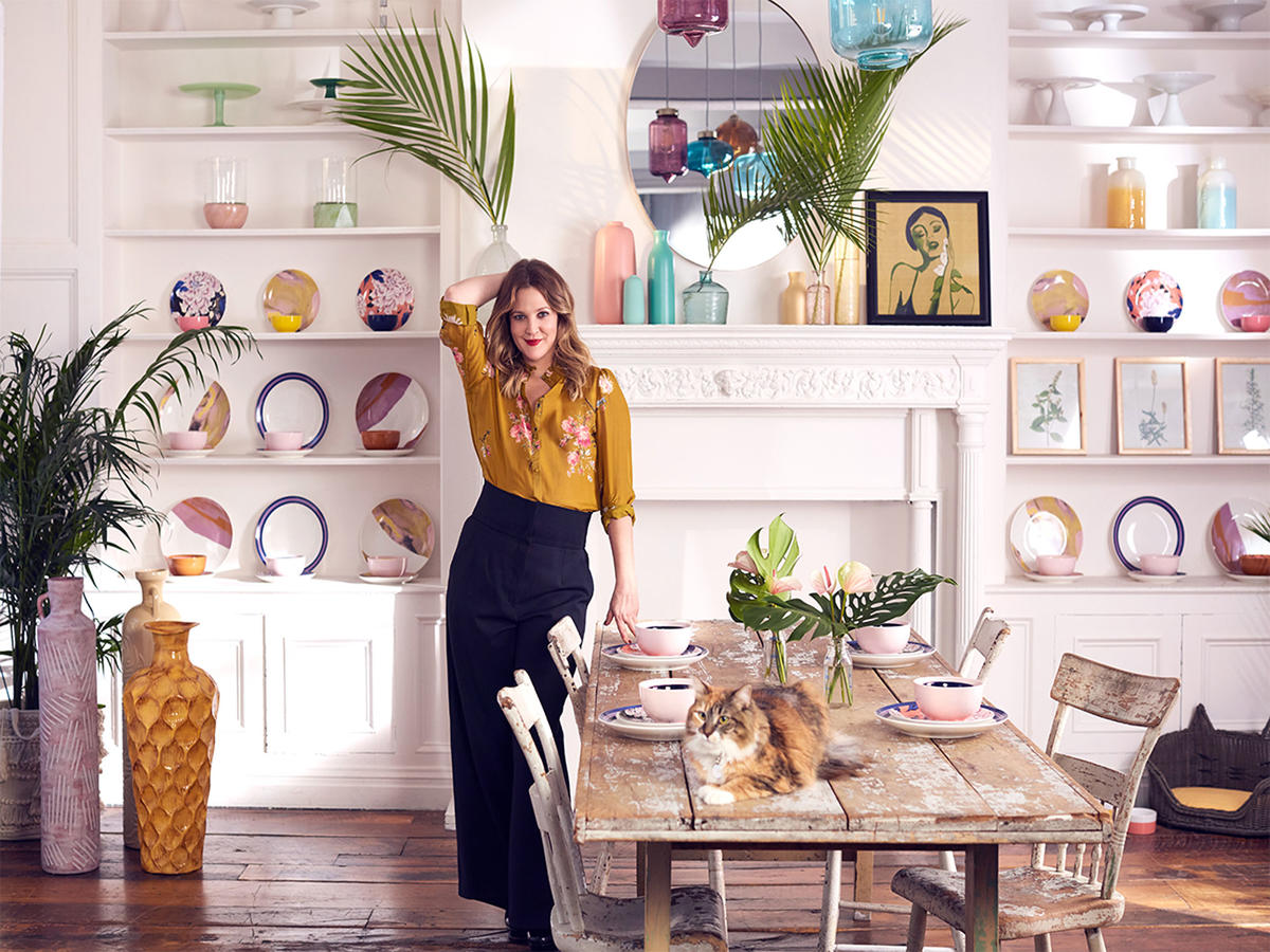 Drew Barrymore's New Home Collection Is Adorable and Affordable