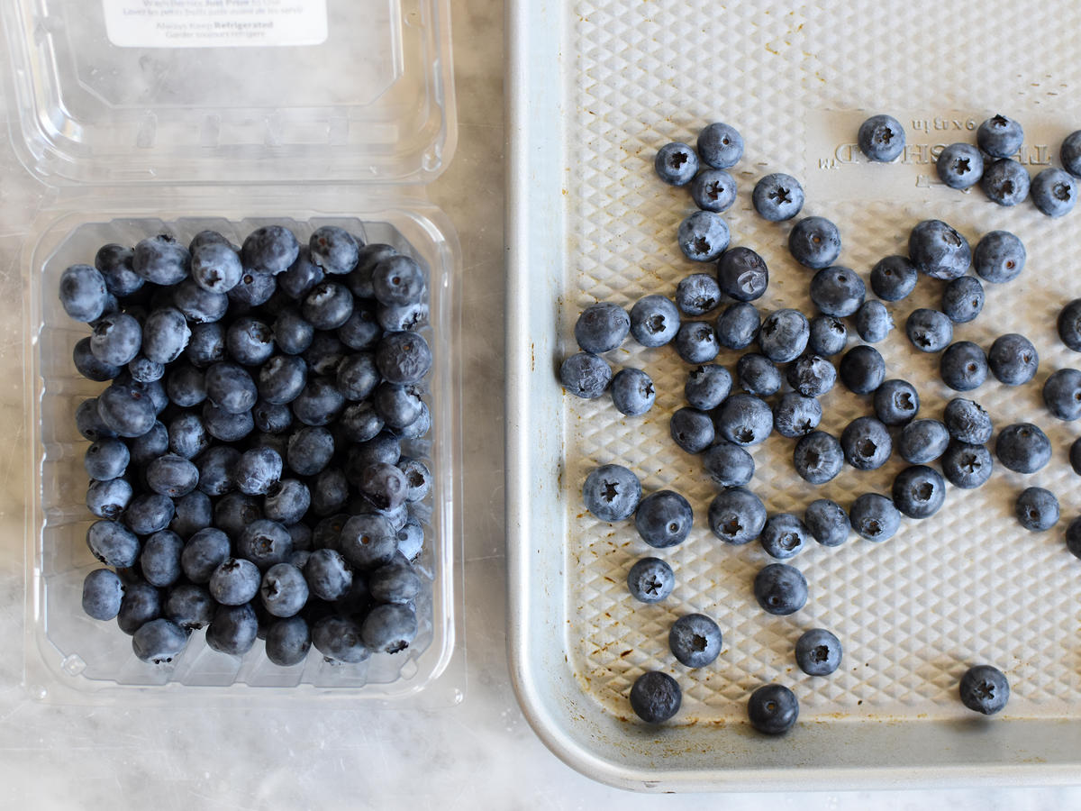 Don't Wash the Blueberries