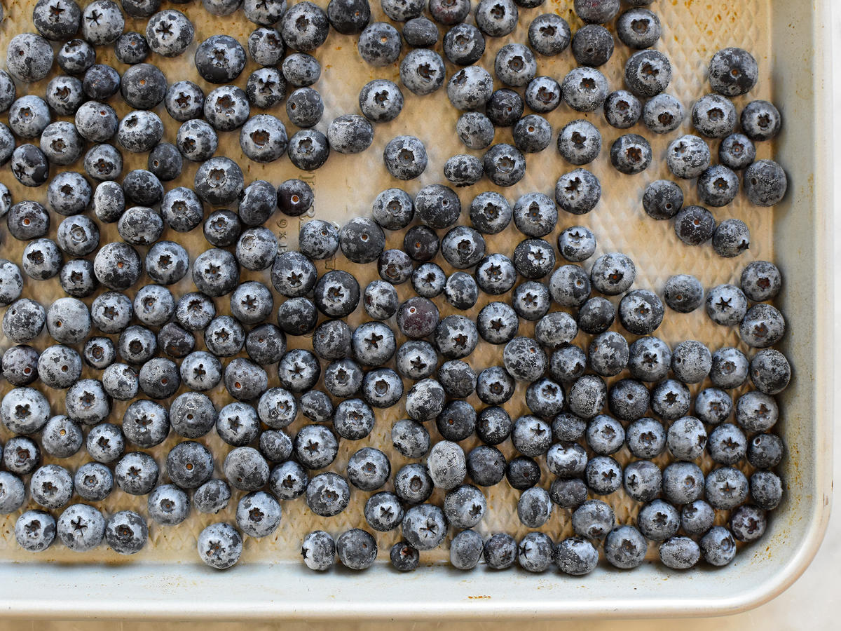 How to Freeze Fresh Blueberries