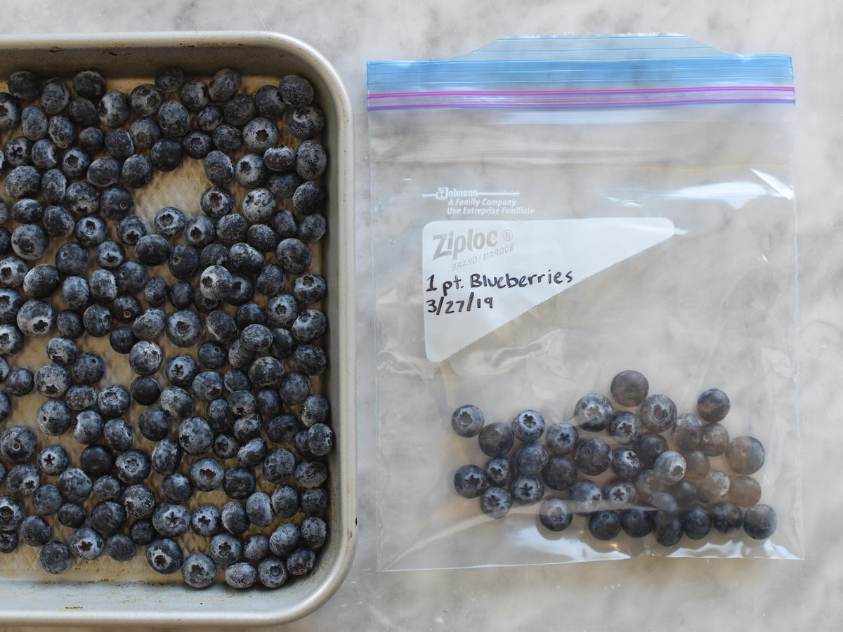 Bag Frozen Blueberries