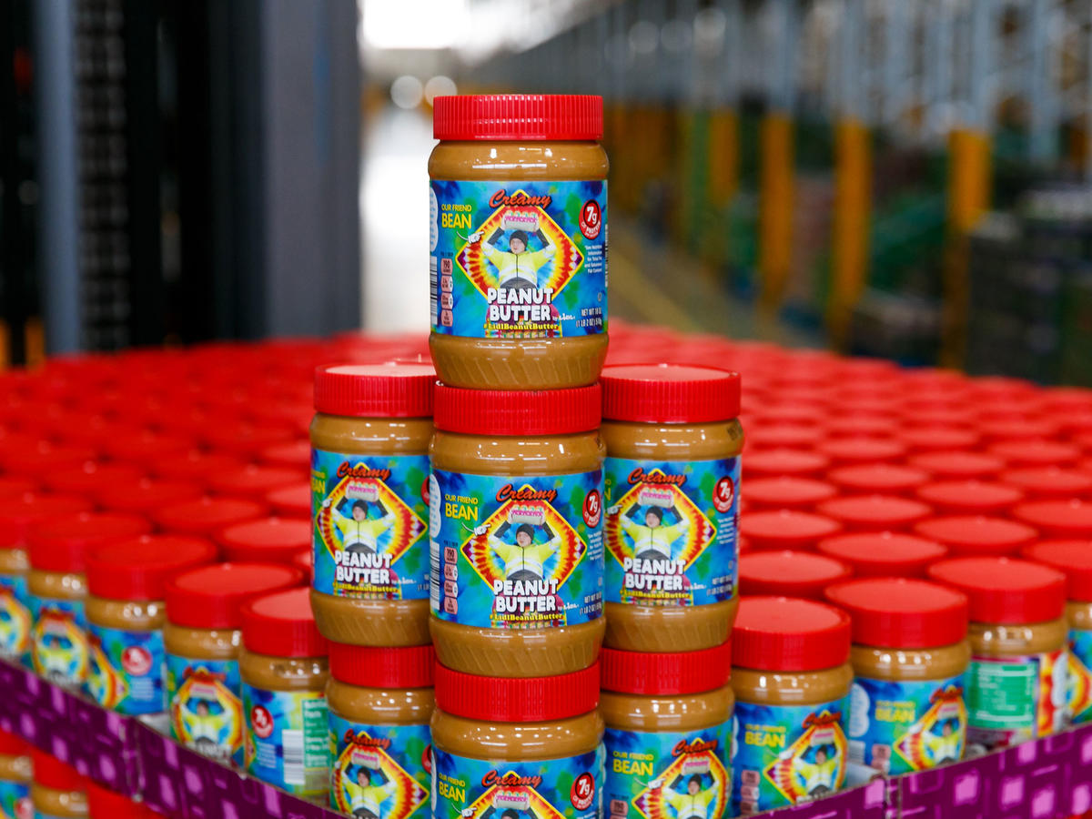 Lidl Creates Limited-Edition Peanut Butter Jars for Autism Awareness Month