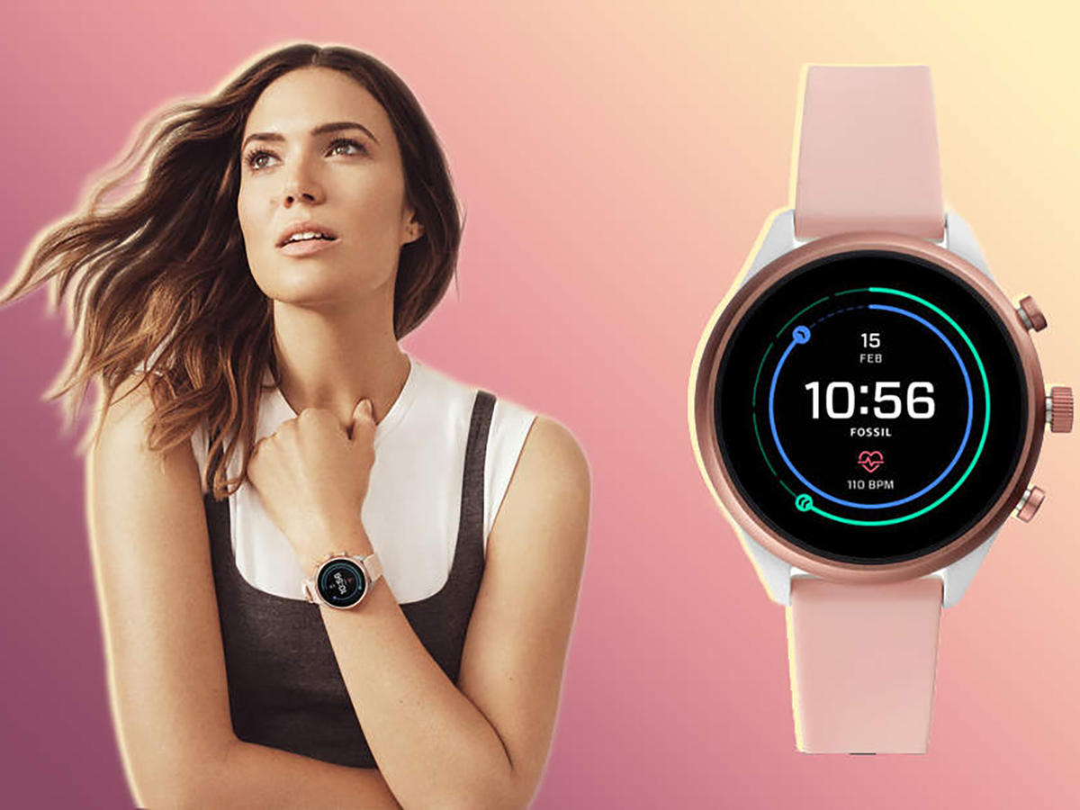 Mandy Moore Is Obsessed With This Fossil Sport Smartwatch—and so Are We